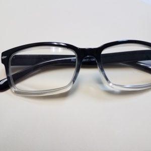 500x Black Frame Hobbyist Magnifying Eyeglasses