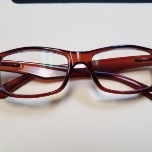 500x Brown Frame Professional Magnifying Eyeglasses